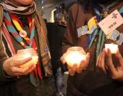 Foto: escoltes i guies compromesos amb la pau i els drets humans