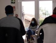 Una sessió en un dels centres del Projecte Home a Catalunya. Font: Projecte Home
