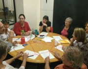 Reunió de treball sobre habitatge sènior a Sostre Cívic. Font: Sostre Cívic