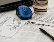 Impostos, ratolí i bolígraf. Font: Pixabay