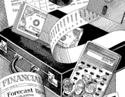 Imatge calculadora, bitllets i maletí