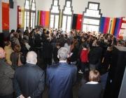 La inauguració de l'exposició va coincidir amb la reobertura del reformat Casino