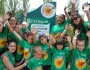 Infants i monitors Festa Esplai 2014. Font: web Fundesplai