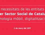 El tercer sector vol pujar al tren de la transformació digital