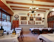 Imatge de l'interior del Restaurant Pitarra