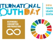 Logotip Dia internacional de Joventut 2016