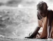 Nena africana, trista i aïllada. Font: Pixabay