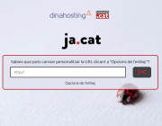Aspecte de l'escurçador de LUR 'Ja.cat'