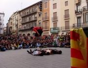 Trobada de caps de les 3 entitats escoltes, feta a Manresa el 2011. Foto: FCEG