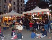 Jocs infantils a la plaça Navas el 9 de novembre