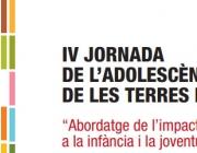 """IV Jornada de l'adolescència """"Abordatge de l'impacte de la pobresa a la infància"""