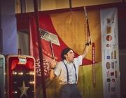Un espectacle de Kanbahiota Troup al Festival Esperanzah 2020. Font:  Javy Puntas