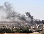 Ofensiva de l'Estat Islàmic contra Kobani, a Síria. Imatge d'eldiario.es