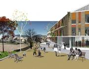 El disseny arquitectònic de La Serreta es basa en criteris d'estalvi energètic i té cura de la salut interior dels habitatges.
