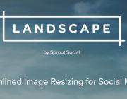 Edita les imatges per les xarxes socials amb Landscape!