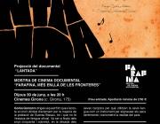 """Quarta Sessió de la Mostra de Cinema Documental """"Farafina 2016"""""""