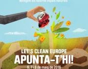 Del 6 al 9 de maig, Let's Clean Up Europe a Catalunya (imatge: residus.gencat.cat)