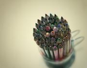 Imatge de llapis de colors, autor Vinoth Chandar