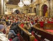 El Parlament de Catalunya aprova la normativa per unanimitat. Font: Taula del Tercer Sector Social
