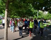Lleida caminarà pel voluntariat.