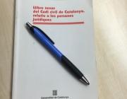 Llibre Codi civil de Catalunya. Font: Suport Associatiu