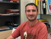 Lluc Rasquera, treballador social de l'Associació de Familiars de Malalts Mentals Dr. Francesc Tosquelles de Reus.