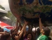 Lluita pagesa. Foto de l'ASAC