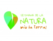 Logo de la Setmana de la Natura, viu la Terra! (imatge:setmananatura.cat)