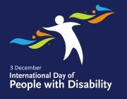 Logotip de la diada de sensibilitatzació envers les persones amb discapacitats