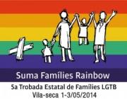 Logo 5ena trobada estatal de famílies LGTB