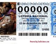 Bitllet Loteria Nacional