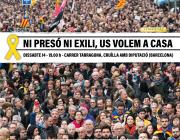 Manifestació 'Ni presó ni exili, us volem a casa'