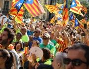 Manifestació Diada de Catalunya