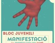 Cartell de la manifestació / Foto: CNJC