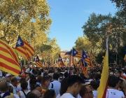 Manifestació de la Diada Nacional de Catalunya de 2016