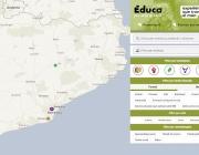 El Mapa Educa Justícia Global serveix per donar valor a les experiències educatives que transformen el món. Font: Mapa Educa Justícia Global