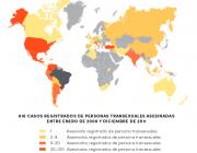 Mapa amb les 42 comarques catalanes.