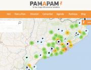 Captura de pantalla del mapa de 'Pam a Pam'