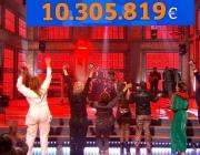 La Marató de TV3 recapta 10.305.819 euros per lluitar contra la Covid-19. Font: TV3