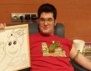 Marc Farran, un dels joves ambaixadors de la Marató de Donants de sang 2.0 de Catalunya