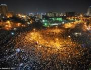 Plaça Tahrir. Fotografia de l'usuari Flickr Jonathan Rashad