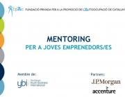 Mentoring per a joves emprenedors/es