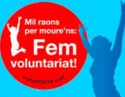Mil raons per moure'ns: fem voluntariat!