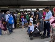 Arribada de persones refugiades a Barcelona