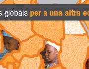 """Part de la portada de la publicació """"Mirades globals per a una altra economia"""""""