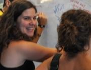 Imatge de persones voluntàries. Font: Fundació Catalana de l'Esplai