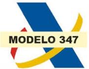 Logotip Agència Tributària i model 347