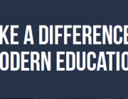 Make a difference in modern education. Font: Plana web dels premis TELL US