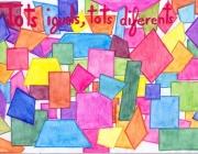 Eslògan tots iguals, tots diferents: Font: www.uv.es
