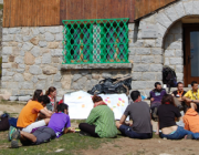 Monogràfic de l'Escola de Formació de Minyons Escoltes i Guies de Catalunya. Foto: MEG.
